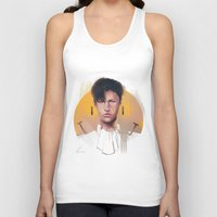 snk Tank Tops featuring Smile by emametlo