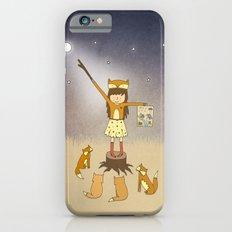 Little Fox Girl Slim Case iPhone 6s