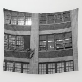 old building • photography Wall Tapestry