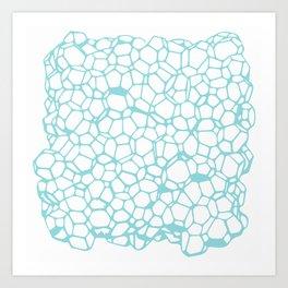 Random Foam (Dirty Tiffany's) Art Print