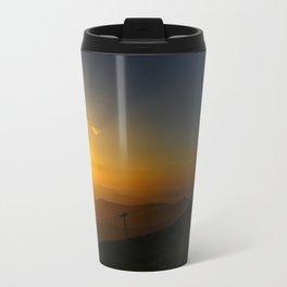 Alpine Sunset Travel Mug