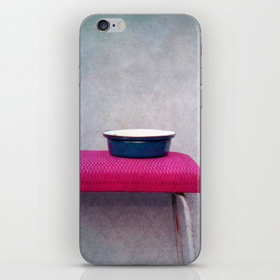 Pot and stool iPhone & iPod Skin