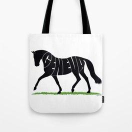 Hanoverian Warmblood Horse Tote Bag