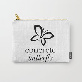 Concrete Butterfly Carry-All Pouch