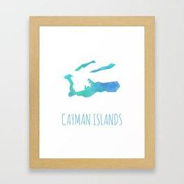 Cayman Islands Framed Art Print