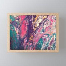 Fluid Color Framed Mini Art Print