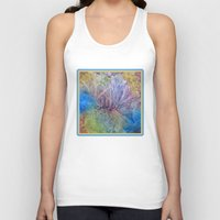 kaleidoscope Tank Tops featuring Kaleidoscope  by Watercolor with Jean
