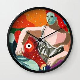 Remix of La Source by Pablo P Cubist Pop Art Wall Clock
