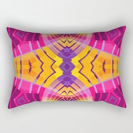 Pinky Aztec Rectangular Pillow