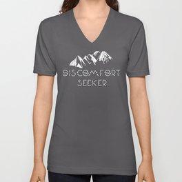 Discomfort Seeker product Unisex V-Neck