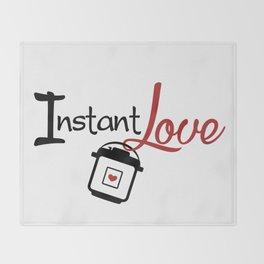 Instant Pressure Cooker Pot Love Throw Blanket