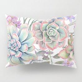 succulent watercolor 12 Pillow Sham