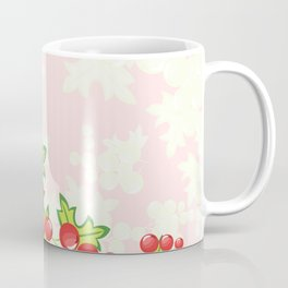 Frame from abstract berries Coffee Mug