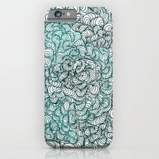 Squigg Block (Blue-Green) iPhone 6 Slim Case