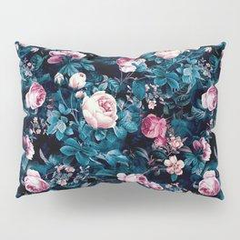 Roses Blue Pillow Sham