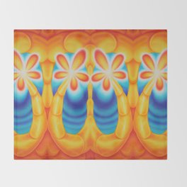 Sunshine Curl Throw Blanket