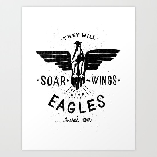 They will soar with wings like eagles.