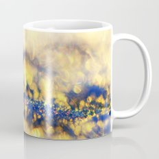 Ice Canyon in Purple and Gold Mug