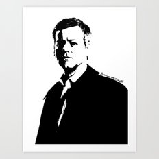 DI Greg Lestrade Art Print