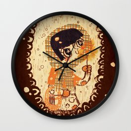 The Little Match Girl 卖火柴の小女孩 Wall Clock