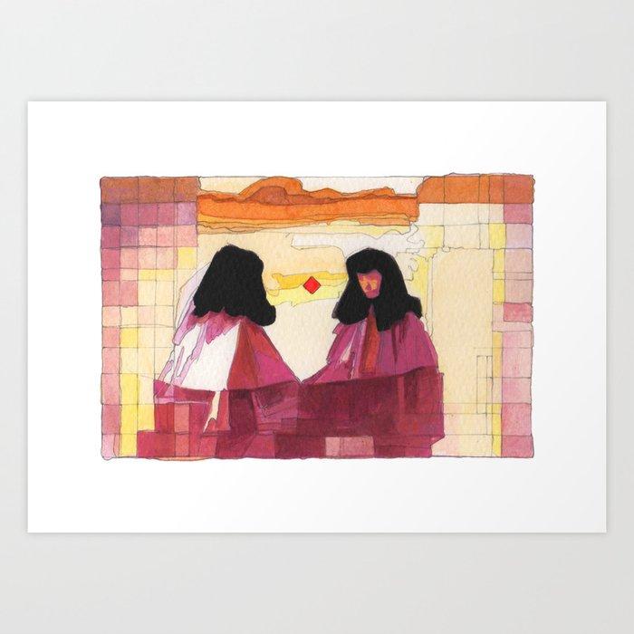 """WEARESIAMESE"" Art Print"