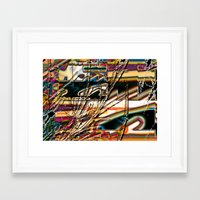 trippy Framed Art Prints featuring trippy by Kayla Davis