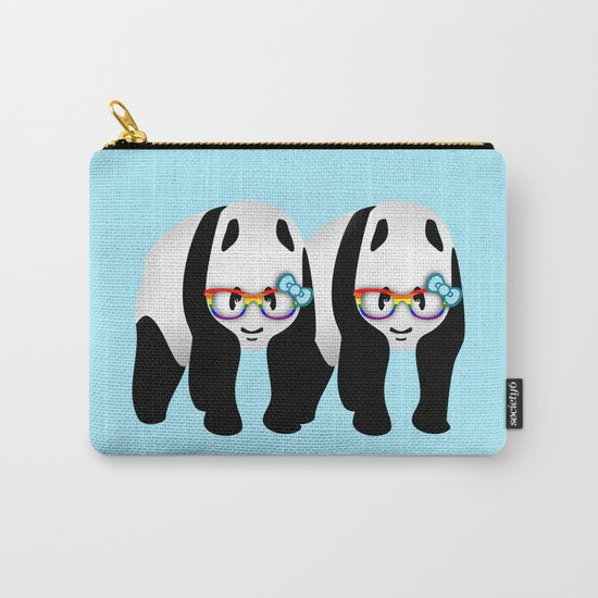 Gay Pride Pandas Carry-All Pouch