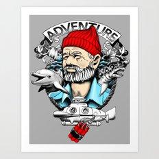 Adventure with Dynamite Art Print