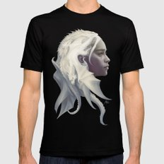 Mother of Dragons MEDIUM Black Mens Fitted Tee