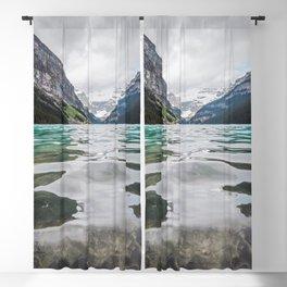 Lake Louise   Alberta Landscape Photography Blackout Curtain