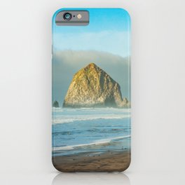 Cannon Beach Oregon, Haystack Rock iPhone Case