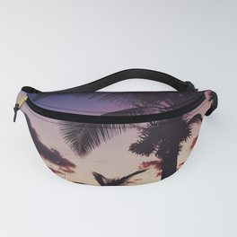 Summer Night Sunset Fanny Pack
