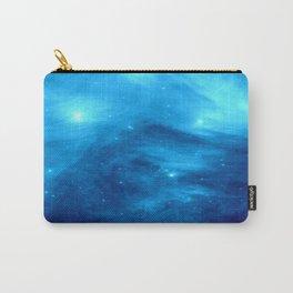 Blue Galaxy : Pleiades Star Cluster nebUla Carry-All Pouch