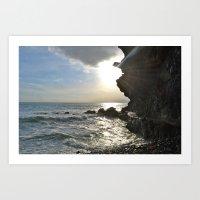 Sunny Cinque Terre Art Print