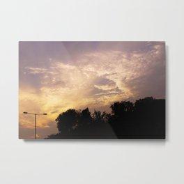 PHOTOGRAPHY / SUNSET 01 Metal Print