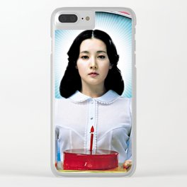 Sympathy for Lady Vengeance Clear iPhone Case