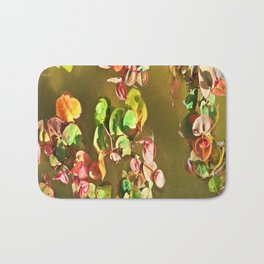 Funny water plants Bath Mat