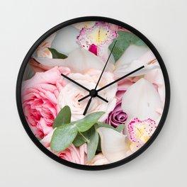 In a Giant's Flower Garden Wall Clock