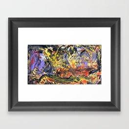 Parachutes 00' Framed Art Print