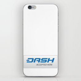 Accepted here: DASH iPhone Skin