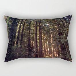 Listen to the Redwoods Rectangular Pillow