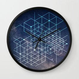 Galaxies Wall Clock
