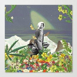 Trudge through a Fertile Field Canvas Print