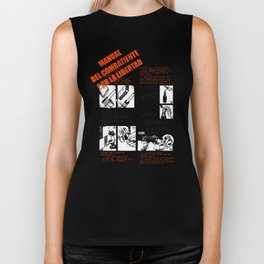 The Freedom Fighters Manual (for light T's) Biker Tank