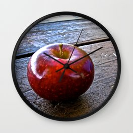 Apple at the Table - The Peace Collection Wall Clock