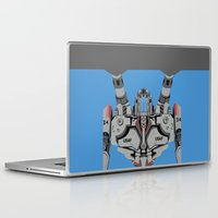 pacific rim Laptop & iPad Skins featuring Pacific Rim - Coyote Tango - Minimal Poster by John Takacs
