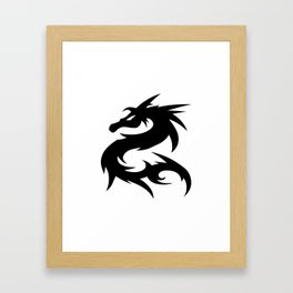 Dragon Art | HD Design Framed Art Print