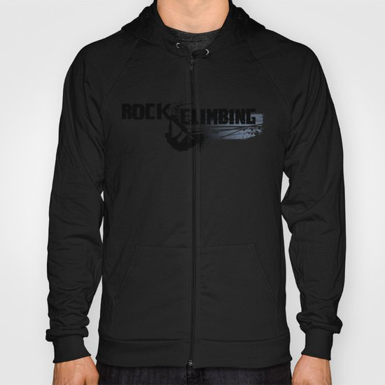 Rock Climbing - Male Hoody