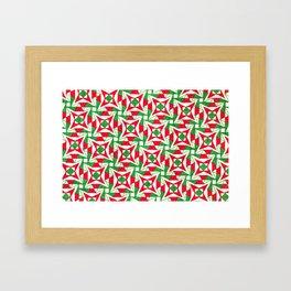 Christmas Stars Framed Art Print