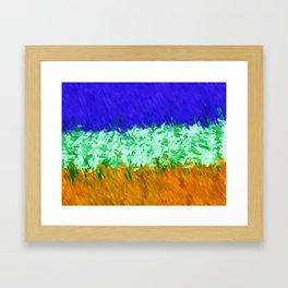 Freedom (of Impression) Framed Art Print